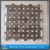 Mattonelle di pavimentazione di marmo di pietra naturali del reticolo di fiore del mosaico/reticolo di mosaico