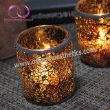 ホーム装飾のための一義的なトルコのハンドメイドのモザイク・ガラスの蝋燭ホールダー