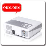 Высокая родная поддержка 720p/1080P репроектора разрешения 1280*800p HD HDMI/USB