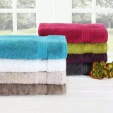 Хлопка мягкое нашивки ванны полотенца полотенце 100% пляжа