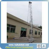 Башня освещения и напольная алюминиевая ферменная конструкция этапа для случая