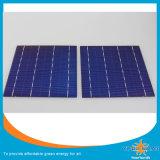Monokristalline und polykristalline Solarzelle