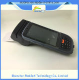 Ordenador portable con el programa de lectura de RFID y el explorador del código de barras