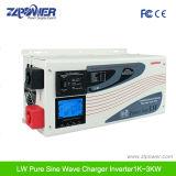 inversor puro de la onda de seno 6000W con el cargador