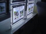 부동산 중개인 Windows 전시 시스템을%s LED 가벼운 포켓