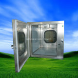 Cadre de passage épuré à l'air d'acier inoxydable de matériel de pièce propre