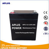 Batterie régulière d'UPS du modèle 12V5.5ah de commande avec la longue durée de vie
