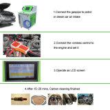 Precio limpio de descarbonic de la máquina del carbón del motor del servicio del motor portable ligero