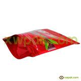 мешок 4oz Kraft бумажный с уплотнением застежки -молнии верхним