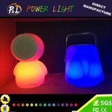 Altavoz portable sin hilos material de Bluetooth del PE con la luz del LED