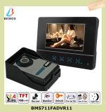 De bidirectionele Intercom opent de VideoTelefoon van de Deur van de Deurbel met de Hoge Technologie van de Aanraking van de Gevoeligheid