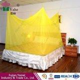 Behandelte Polyester-materielles Insektenvertilgungsmittel 100% das weiße Moskito-Netz, das in China hergestellt wurde