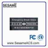 Bruch-Glasfeuer-Notausgang-Freigabe ohne Deckel (SARed)
