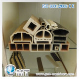 Protuberancia plástica del tornillo del gemelo de la máquina del panel de techo del PVC WPC