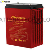 Batteries profondes Htl6-420 de gel de cycle de la batterie 6V 420ah de VRLA