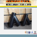 Té sans joint du noir Y d'égale d'acier du carbone de la Chine