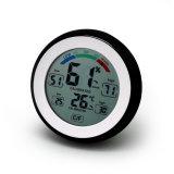 De ronde Thermometer van het Scherm van de Aanraking van de Vorm Binnen/Openlucht met Niveau Humidity&Comfort