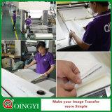 Qing Yi base de agua de la película de PET para el traspaso térmico de la etiqueta engomada