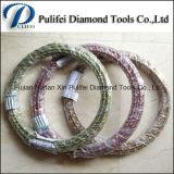 작은 구슬 플라스틱 다이아몬드 철사는 화강암 석판 다중 철사 절단기를 위해 보았다