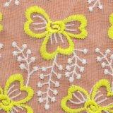 Tessuti indiani del merletto del merletto del tessuto dei tessuti africani decorativi del merletto