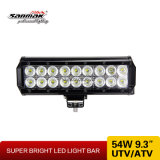 """9.5 """" 4X4手段のための54W LED作業ライトバー"""