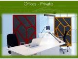 Faser-akustisches Panel des Polyester-E0/B1, fehlerfreier Vorstand-Partition