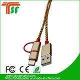 최신 판매 3in1 보편적인 마이크로 컴퓨터 USB 케이블