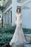 Spitze-Brautkleid-Nixe-lange Hülsen-Hochzeits-Kleider W176286