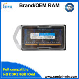 Rma 1% 미만 1600MHz SODIMM/Laptop 8GB DDR3 렘