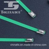 Заводские Поставка с эпоксидным покрытием ПВХ SS304 Нержавеющая сталь кабельные стяжки