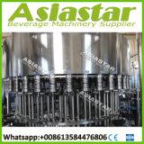 4500bph 통합 완전한 자동적인 1.5L-5L 병에 넣은 물 액체 충전물 기계