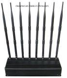 2g 3G 4G Blocker 8 van het Signaal Stoorzender van WiFi van de Stoorzender van de Telefoon van Banden de Cellulaire 5.2g 5.8g 2.4G