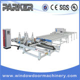 Deur Vier van het Venster UPVC CNC van de Hoek de Horizontale Automatische Machine van het Lassen