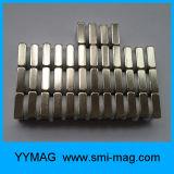 Imán del bloque del imán N52 del neodimio de la alta calidad pequeño