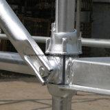 Puder strich galvanisiertes Cuplock Baugerüst Standard an
