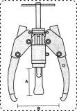 Auto-Centeringhydraulische Abziehvorrichtung-Peilung-Abzieher