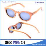 2016 neue Handcrafted Rosenholz-Form-Sonnenbrillen polarisiert