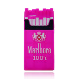 方法Marlboroの新しいタバコのiPhoneのケース(XSF-004)のための柔らかいシリコーンの電話箱