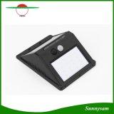 16 Licht van de Muur van de Sensor van de Sensor van de Motie van de leiden- Driehoek het Zonne Aangedreven Lichte Openlucht Zonne