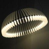 Europäische Qualitäts-runde hängende acrylsauerlampe für Wohnzimmer