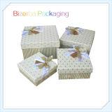 Boîte-cadeau de empaquetage de carton fait sur commande