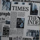 가장 새로운 다채로운 소파 Furnture 물자를 위한 신문에 의하여 인쇄되는 PVC 가죽