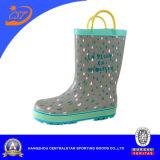 Bottes de pluie d'enfants de gouttes de pluie avec les poignées Kr026