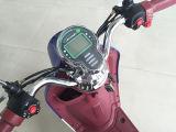 Tipo minúsculo motocicleta elétrica com caixa traseira