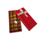 El chocolate personalizada envasado de la técnica de papel Caja del cartón