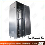 Netz-Schrank für den Telekommunikations-Fußboden, der 19 '' Gehäuse steht
