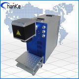 Máquina da marcação do laser da fibra para o ABS plástico de Alumnium do metal