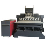 Гравировальный станок CNC машины CNC маршрутизатора CNC высекая машину (VCT-TM2515FR-8H)