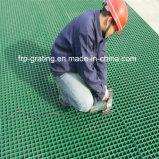 Fibre de verre de passage couvert râpant avec l'anti surface de glissade