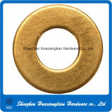 Steel inoxidable Galvanized ou Brass Industrial Machine Flat Washer